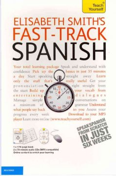 Teach yourself Elisabeth Smith's fast-track Spanish cover image