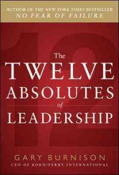 The twelve absolutes of leadership cover image