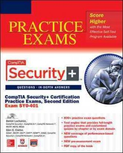 CompTIA Security+ Certification Practice Exams : (Exam Sy0-401) cover image