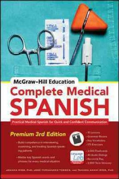 Complete medical Spanish cover image