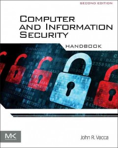 Computer and information security handbook cover image