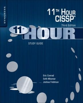 Eleventh hour CISSP study guide cover image