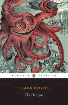 The octopus : a story of California cover image