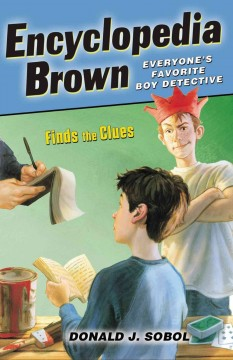 Encyclopedia Brown finds the clues cover image