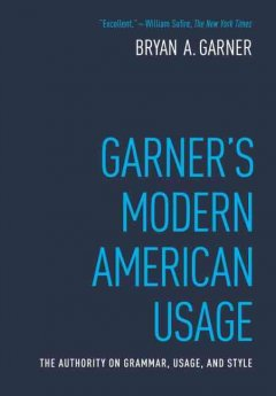 Garner's modern American usage cover image