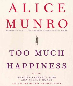 Too much happiness stories cover image