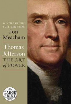 Thomas Jefferson the art of power cover image