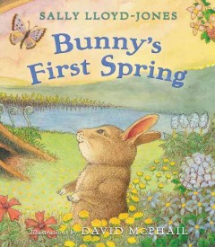 Bunny's first spring cover image