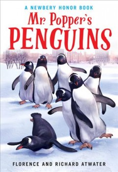 Mr. Popper's penguins cover image