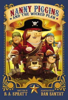 Nanny Piggins and the wicked plan cover image