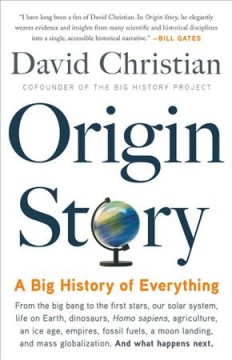 Origin story : a big history of everything cover image