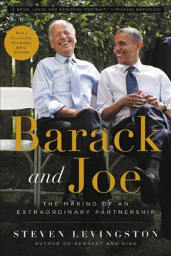 Barack and Joe the making of an extraordinary partnership cover image