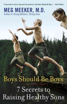 Boys should be boys : 7 secrets to raising healthy sons cover image