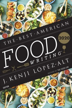 The best American food writing 2020 cover image