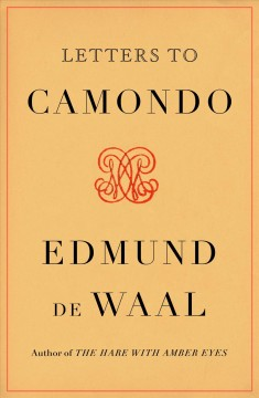Letters to Camondo cover image