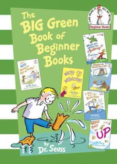 The big green book of beginner books cover image