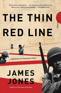 The thin red line cover image