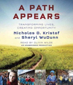A path appears transforming lives, creating opportunity cover image