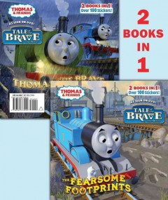 The fearsome footprints ; Thomas the brave cover image