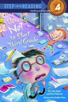 How not to start third grade cover image