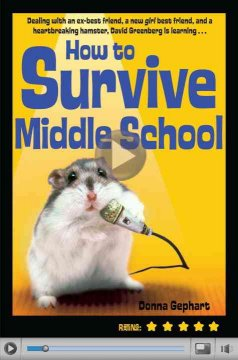 How to survive middle school cover image