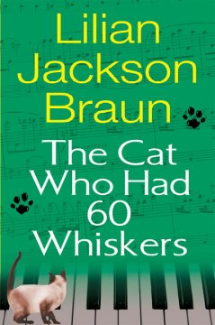 The cat who had 60 whiskers cover image