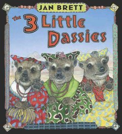 The 3 little dassies cover image