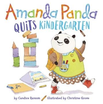 Amanda Panda quits kindergarten cover image