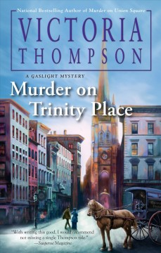 Murder on Trinity Place cover image