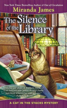 The silence of the library cover image