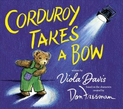 Corduroy takes a bow cover image