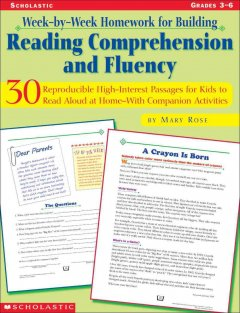 Reading comprehension and fluency : 30 reproducible high-interest passages for kids to read aloud at home - with companion activities cover image