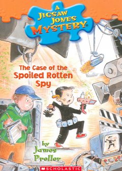 The case of the spoiled rotten spy cover image
