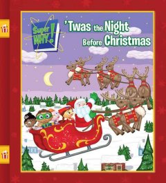 Super why! 'Twas the night before Christmas cover image