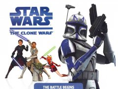 Star Wars, the Clone wars. The battle begins cover image