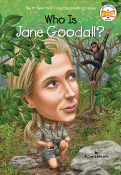 Who is Jane Goodall? cover image