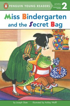 Miss Bindergarten and the secret bag cover image
