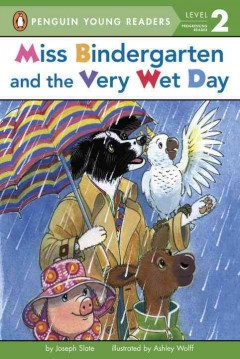 Miss Bindergarten and the very wet day cover image