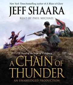 A chain of thunder a novel of the Siege of Vicksburg cover image