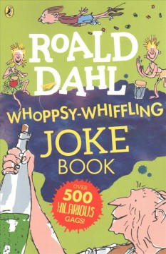 Whoppsy-whiffling joke book cover image