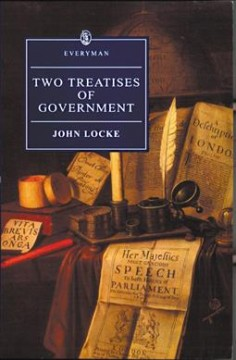 Two treatises of government cover image