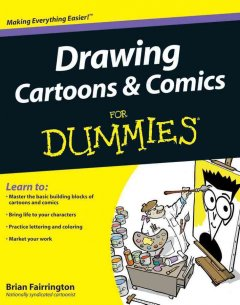 Drawing cartoons & comics for dummies cover image