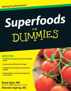 Superfoods for dummies cover image