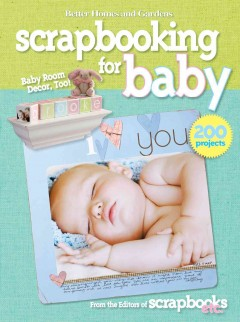 Scrapbooking for baby cover image