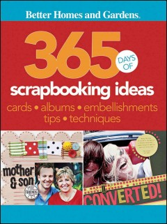 365 days of scrapbooking ideas cover image