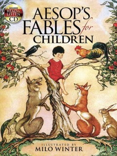 Aesop's fables for children cover image
