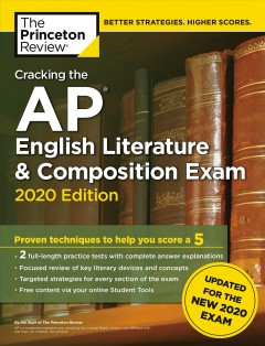 Cracking the AP. English literature and composition exam cover image