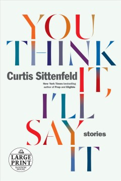 You think it, I'll say it stories cover image