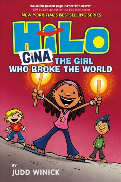 Hilo. Book 7, Gina, the girl who broke the world cover image