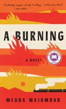 A burning cover image